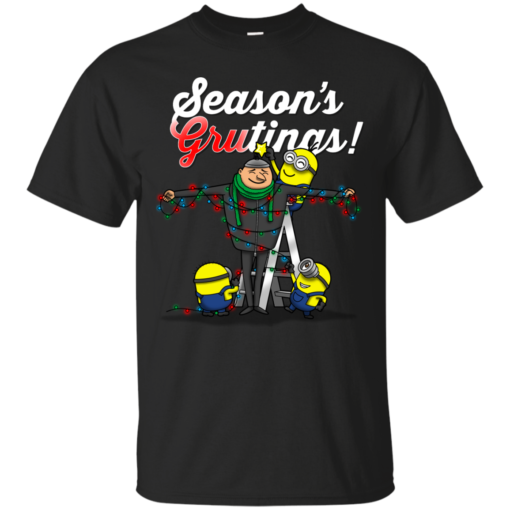 Seasons grutings christmas funny Cotton T-Shirt