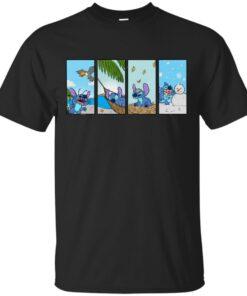 Seasons of the Stitch Cotton T-Shirt