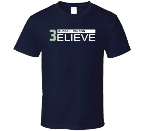 Seattle Quarterback Russell Wilson T T Shirt