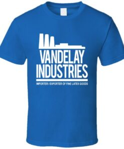Seinfeld Vandelay Industries Logo Factory T Shirt