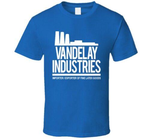 Seinfeld Vandelay Industries Logo Factory T Shirt