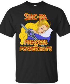 SheRa Princess of Power Naps Cotton T-Shirt