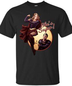 Shes Super Cotton T-Shirt