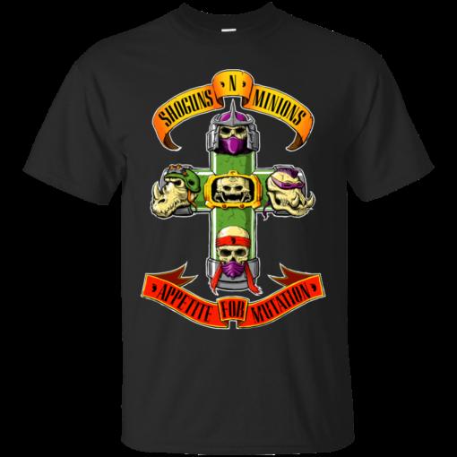 Shoguns N Minions tmnt Cotton T-Shirt