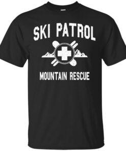 Ski Patrol Mountain Rescue vintage look Cotton T-Shirt