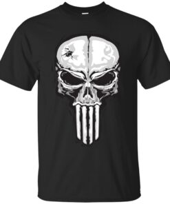Skull of Punisher Cotton T-Shirt