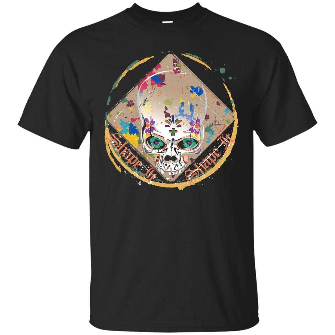Skull1 Cotton T-Shirt