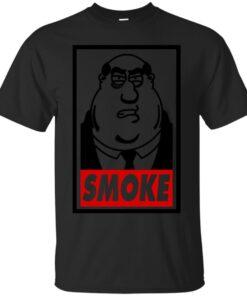 Smoke Cotton T-Shirt