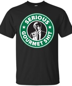 Some Serious Gourmet Coffee Cotton T-Shirt