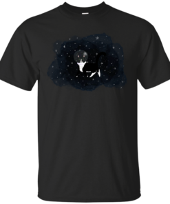 Space cat Cotton T-Shirt