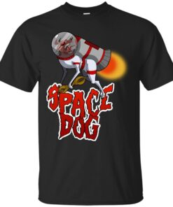 Space Dog Cotton T-Shirt