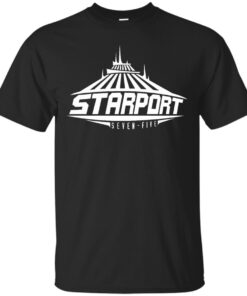 Space Mountain Starport SevenFive Cotton T-Shirt