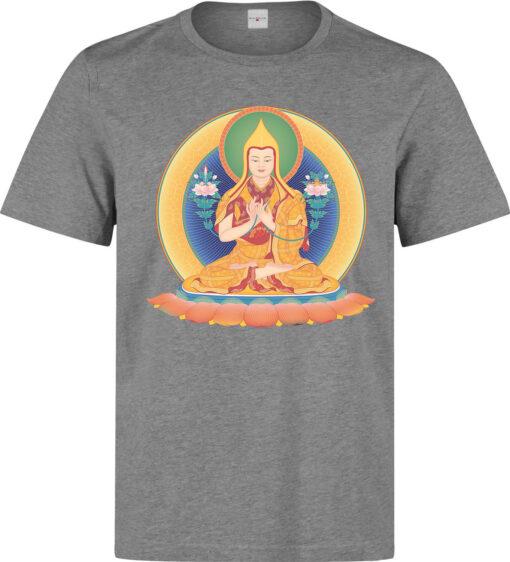 Spiritual Meditation (Available For Women) Gray Men'S Art Of Enlightenment T Shirt