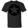 Star In A Circle psychic cat Cotton T-Shirt