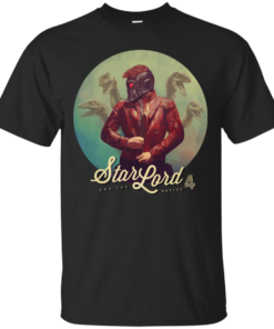Star Lord the Raptor 4 Cotton T-Shirt