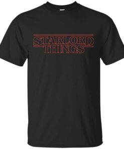 Starlord Things Cotton T-Shirt