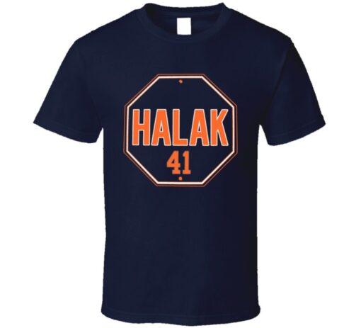 Stop Sign Jaroslav Halak New York T T Shirt