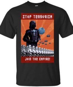 Stop Terrorism Cotton T-Shirt