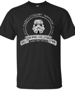 Stormtrooper Academy Aurebesh Cotton T-Shirt