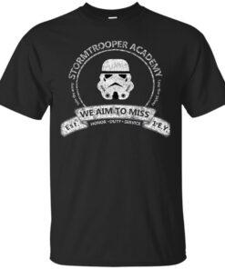 Stormtrooper Academy Cotton T-Shirt