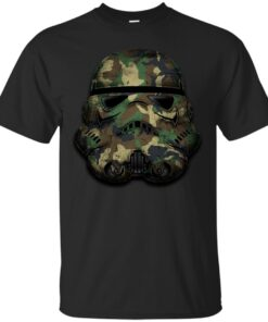 Stormtrooper Camouflage Cotton T-Shirt