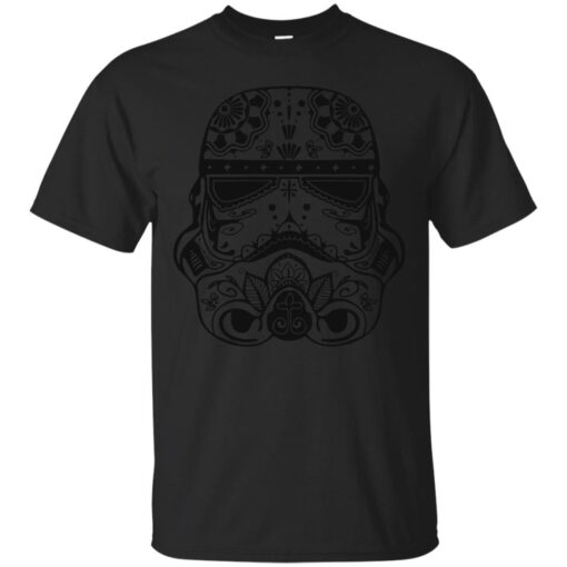 Stormtrooper Mexican Skull Cotton T-Shirt