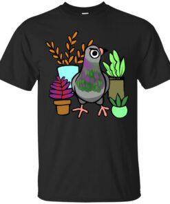 Succulent Pigeon Cotton T-Shirt