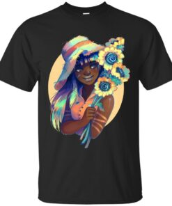 Sunflowers Cotton T-Shirt