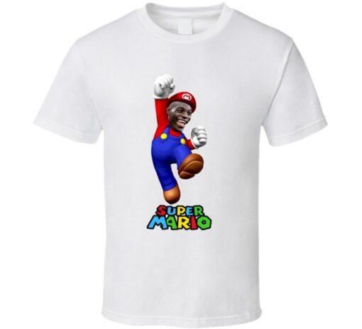 Super Mario Balotelli Italy Milan Italian Soccer Football T Shirt