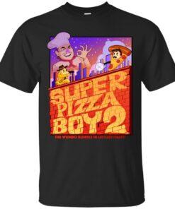 Super Pizza Boy 2 Cotton T-Shirt