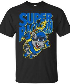 Super Raccoon Thief Cotton T-Shirt