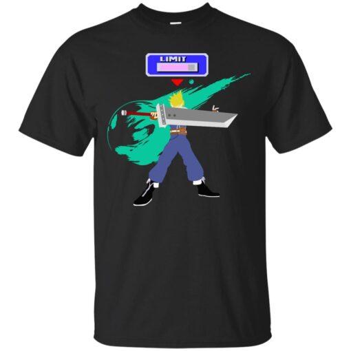 Super Smash Bros Cloud Cotton T-Shirt
