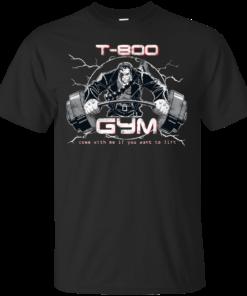 T800 Gym Cotton T-Shirt