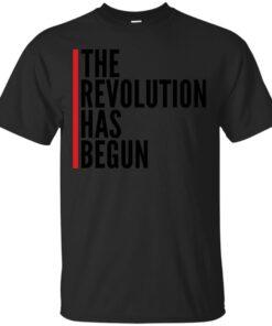 THE REVOLUTION HAS BEGUN Cotton T-Shirt