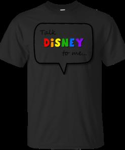Talk Disney to me Cotton T-Shirt