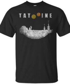 Tatooine landscape Cotton T-Shirt