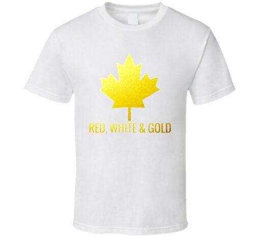 Team Canada Gold T Shirt
