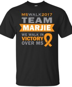 Team Marjie Walks MS 2017 Cotton T-Shirt