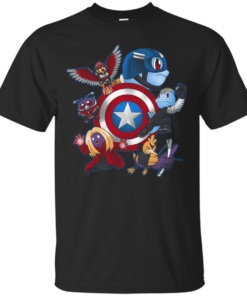 Team Squirgers Cotton T-Shirt