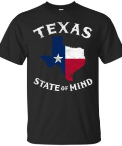 Texas State Of Mind Cotton T-Shirt