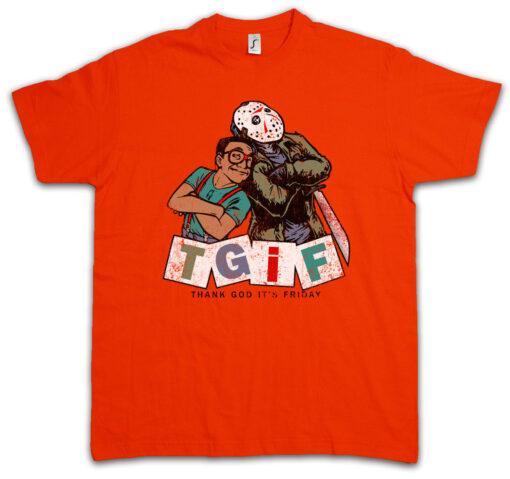 Tgif Thank God I Is Friday Family Fun Affairs Jason Steve Urkel T Shirt