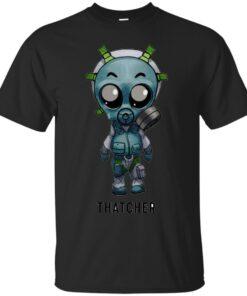 Thatcher Chibi Cotton T-Shirt