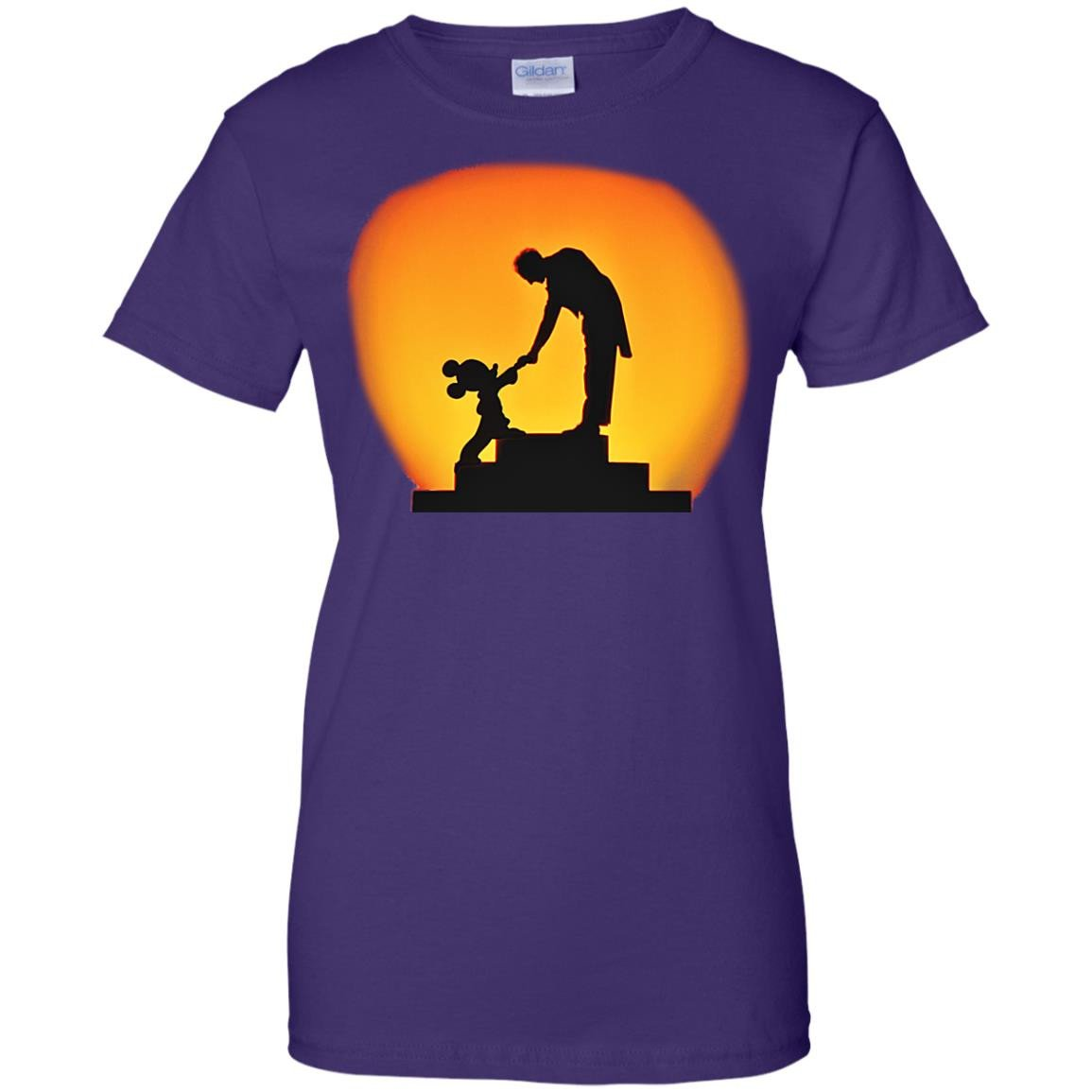 The Conductor and the Mouse Cotton T-Shirt