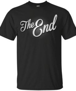 The End Vintage Film Frame Cotton T-Shirt