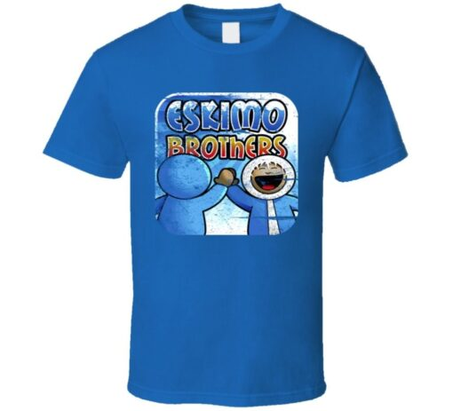 The Eskimo Brothers Tv Funny T-League T Shirt