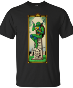 The Haunted Sewer Here Lies Shred Cotton T-Shirt