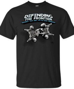 The Last Starfighter Pledge Cotton T-Shirt