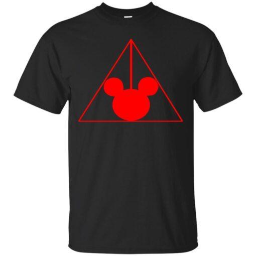The Mickey HallowsTransparent Cotton T-Shirt