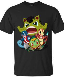 The Pokevengers Cotton T-Shirt