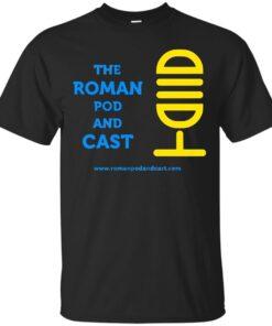 The Roman Pod and Cast White Cotton T-Shirt